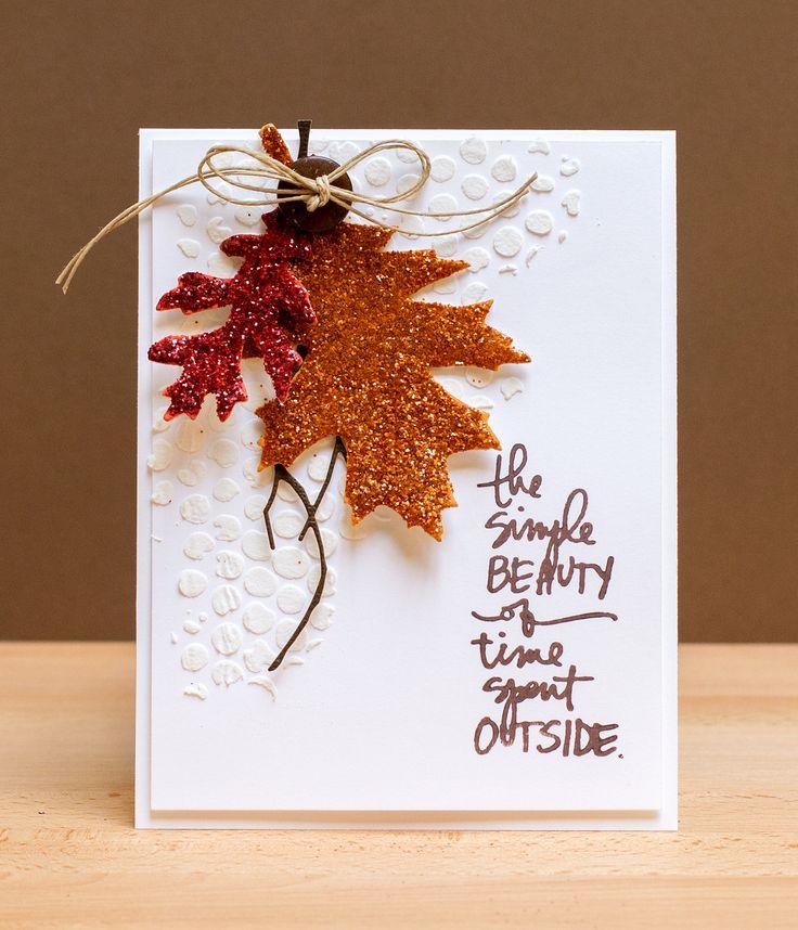Совести, интересные осенние открытки своими руками