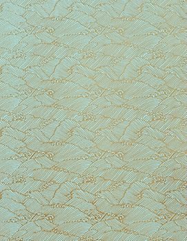 Yuzen Pool Gold Waves Fine Paper - vanity top