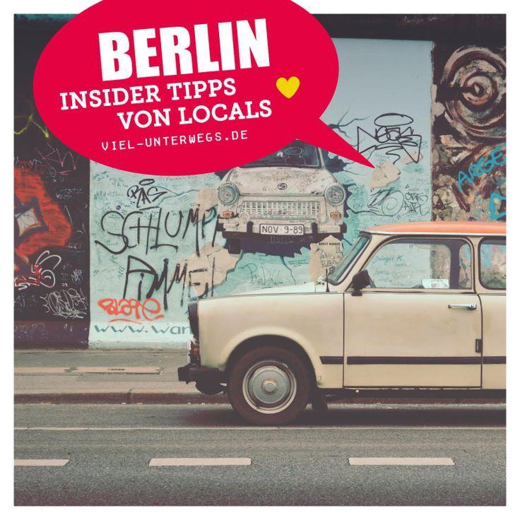 Die Lieblingsorte Berlins von Locals und mir zusammengefasst. Mit Tipps und Infos zum Geld sparen.