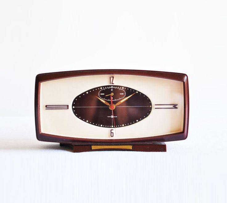 Midcentury Toyo Clox Alarm Clock (29.00 EUR) by thelittlebiker