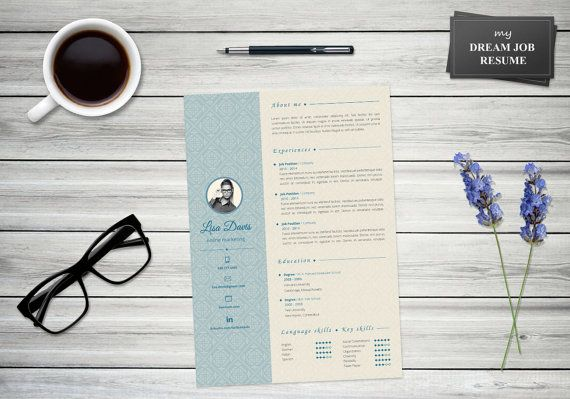 Stylish but professional... best resume and cover letter ever!