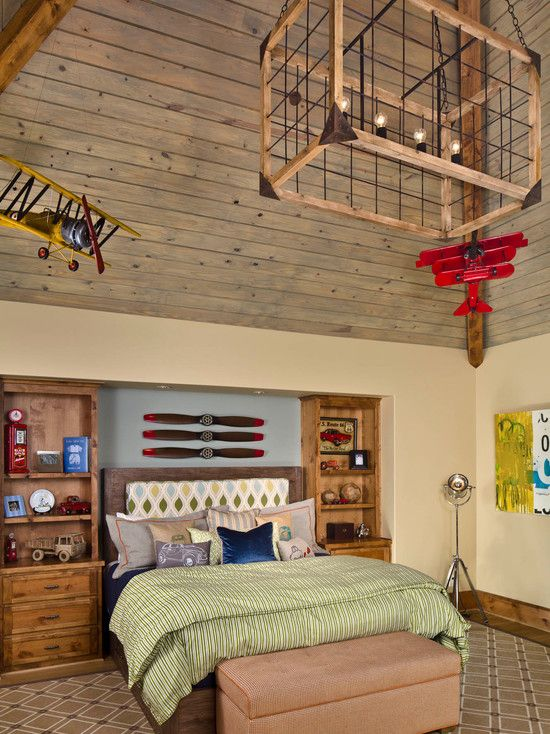 airplane boys room home decor pinterest