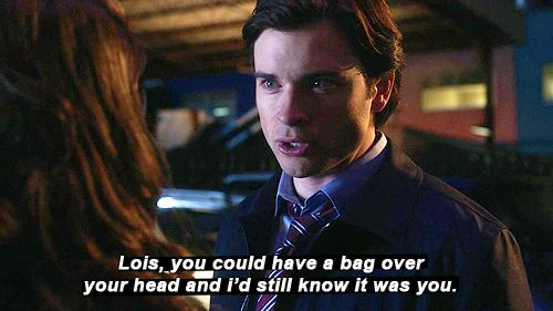 haha now that's love <3 Smallville