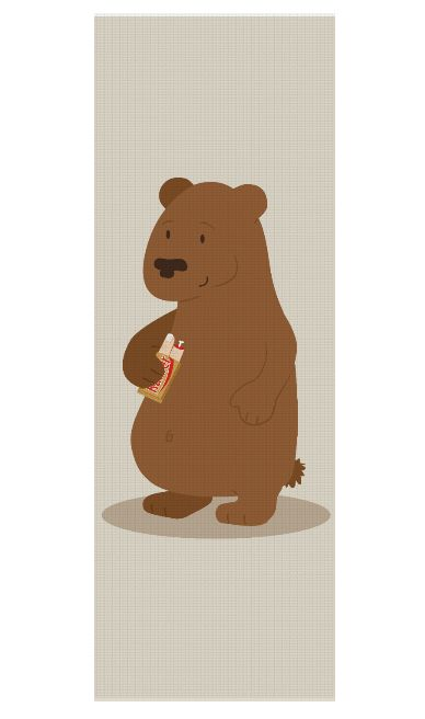 2 doigts coupe faim Yoga Mat by @savousepate on Rageon! #yogamat #bear #cute #parody #funny #brown