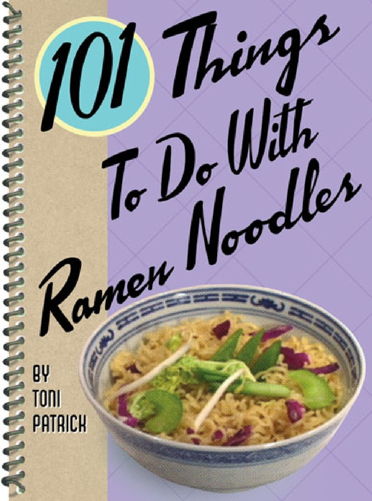 101 Things to Do with Ramen Noodles - they don't sell Maruchan Ramen in the UK, but their Super Noodle brand is actually better! Imagine the possibilities!
