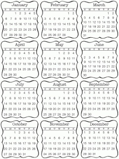 New Product Reveal Day #4 - 2014 Calendar Products #stickers #calendar #minicalendar #2014