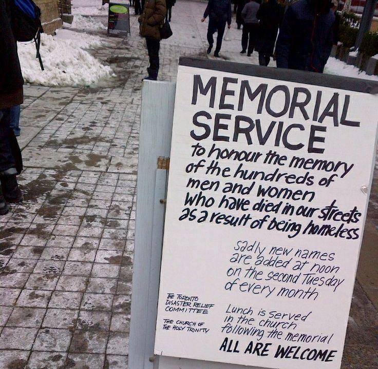 Over 700 names.  Toronto Homeless Memorial.