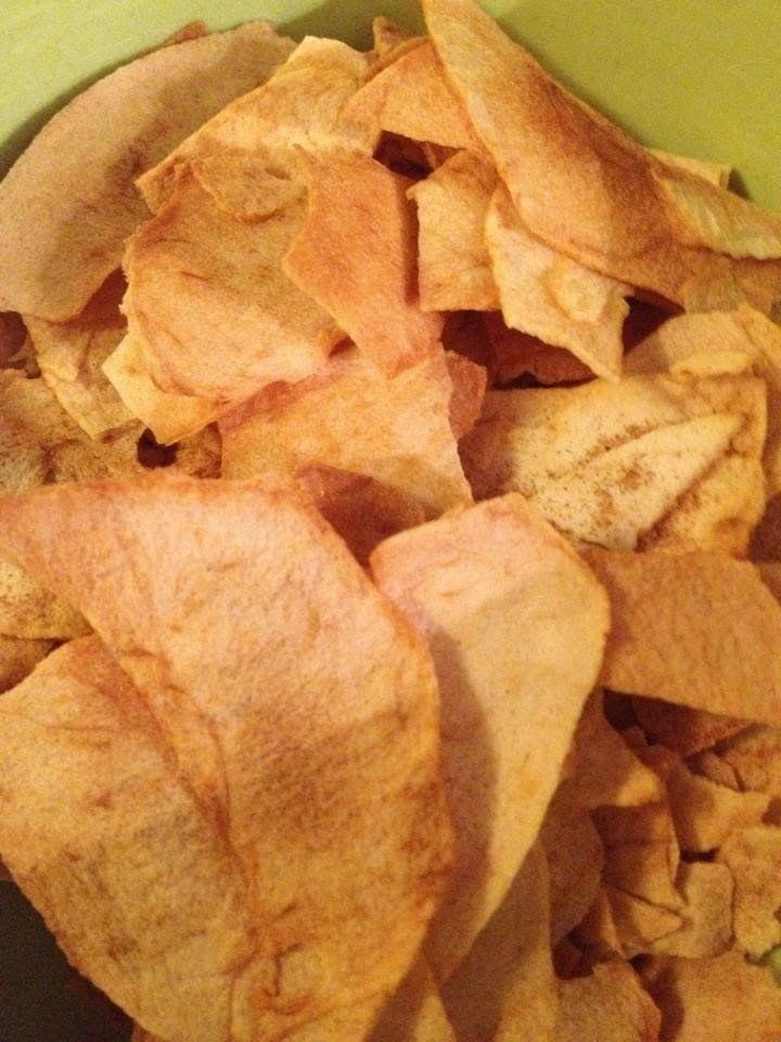 Lekker eten met Marlon: Appelchips