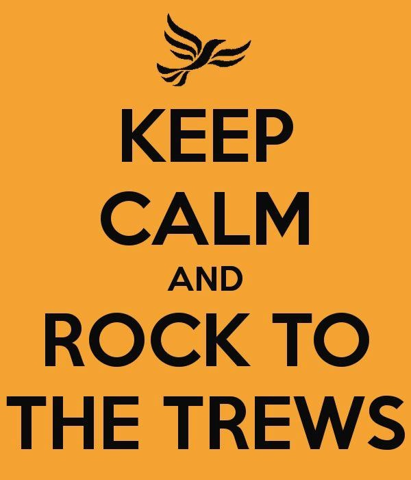 Keep calm and rock to The Trews.