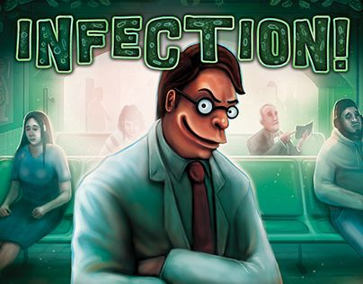 """Check out new work on my @Behance portfolio: """"Infection! A board game"""" http://be.net/gallery/47525341/Infection-A-board-game"""