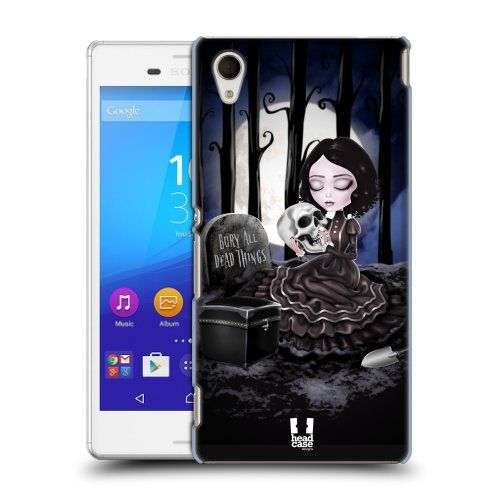 Pouzdro na mobil Sony Xperia M4 Aqua E2303 HEAD CASE MACABRE HŘBITOV