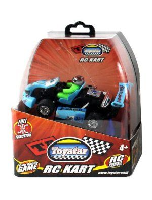 My Funky Planet Toyatar - 1:23 - RC Karts, Blue by Grooyi. Save 17 Off!. $16.66. With front and back lights. Full-function control at an affordable price forward, backward, left, right, brake. Includes MyWebRC starter membership web-card, unlock a 3d virtual replica of vehicle and fine tune driving skills in game simulator while battery is charging. From the Manufacturer                Have tons of fun with our Toyatar - 123 RC karts. With front andback lights, forward, backward, left and…