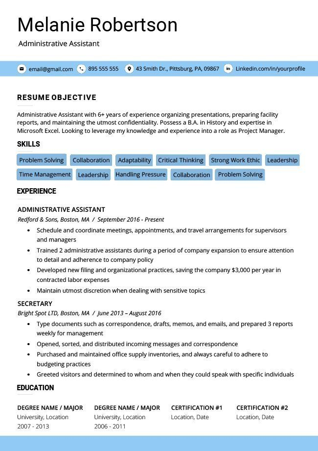 Cv Templates Word Free Download 30 Editable Templates For Word
