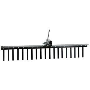 Impact Implements PRO Landscape Rake with Tipper Latch IP4456