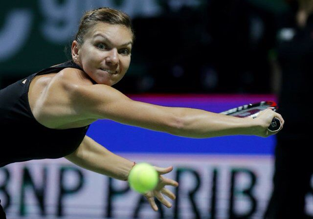 SHENZHEN, China (AP) -- Simona Halep of Romania lived up to her No. 1 seeding and defeated Zheng Saisai of China 6-2, 6-3 to reach the Shenzhen Open final on Friday.