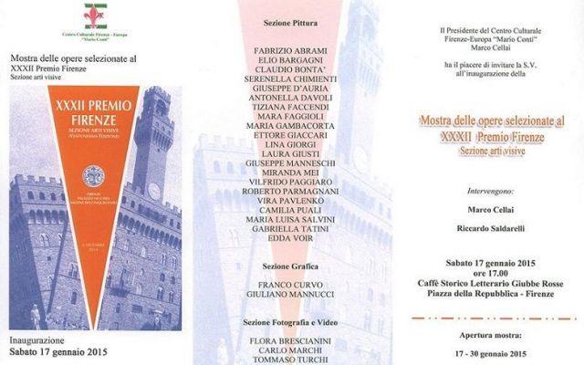 """Cultura: XXXII """"Premio Firenze"""" #firenze #cultura #premio #giaccari"""
