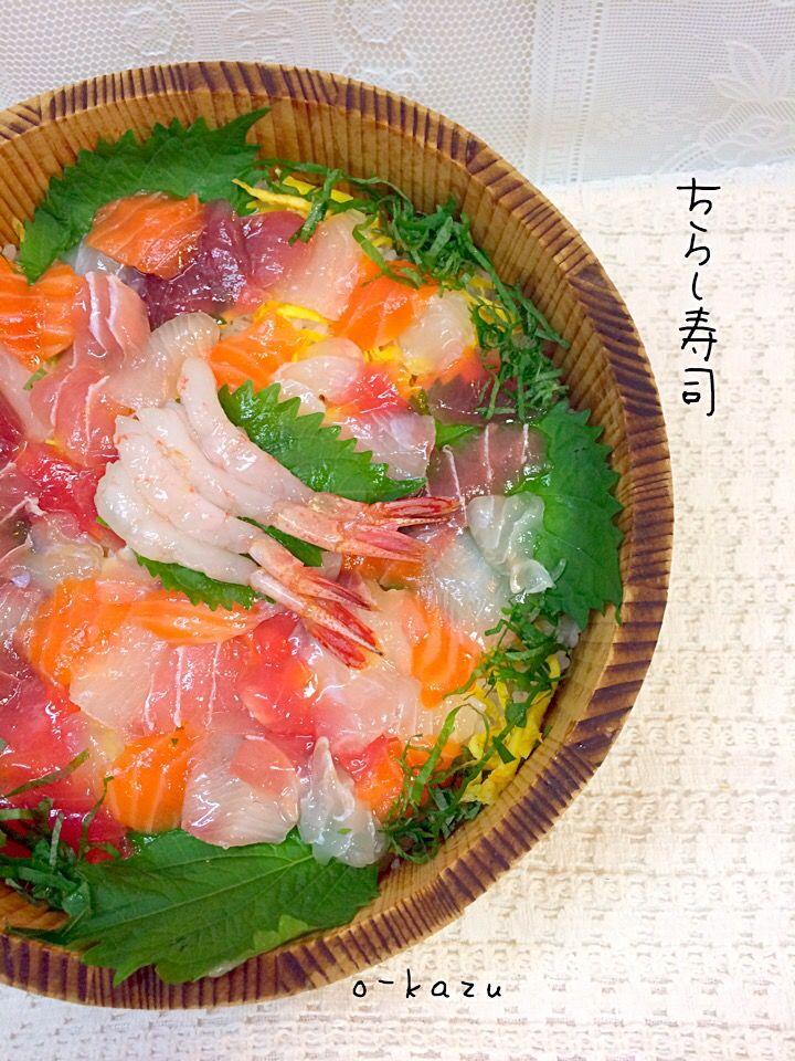 o kazu's dish photo 液体塩こうじdeちらし寿司 | http://snapdish.co #SnapDish #レシピ…