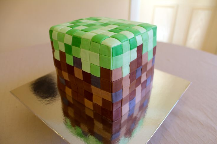 Minecraft cake by The Vanilla Store To request a quote please email us at info@thevanillastore.com.au