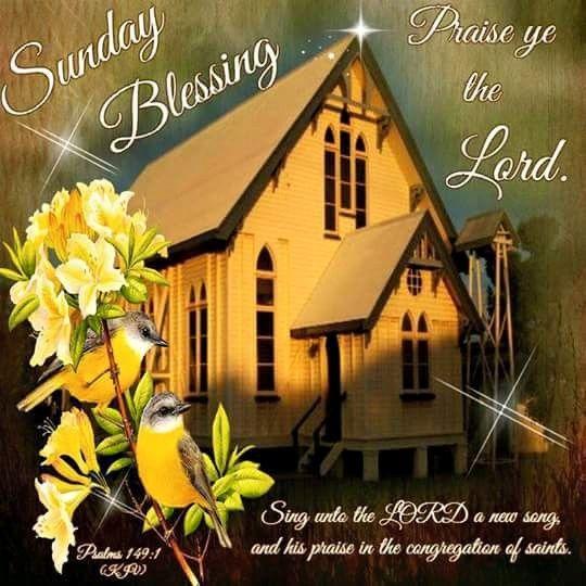 Sunday Blessing, Psalms 149:1