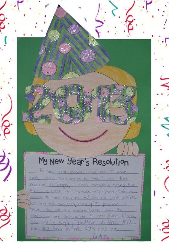 Happy New Year = craftivity from Lesson Plan Diva @ http://www.teacherspayteachers.com/Store/The-Lesson-Plan-Diva