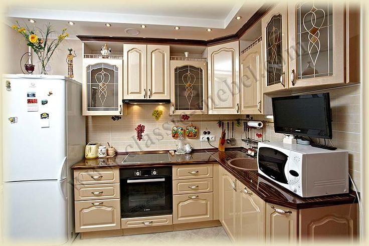 Кухня с рельефными фасадами производства ИП КЛАССИК