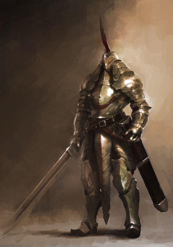knight concept by artcobain.deviantart.com on @deviantART