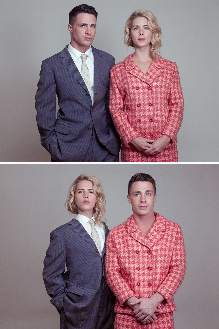 Exclusive: Colton Haynes Dons Drag with Emily Bett Rickards for Tyler | Vanity Fair