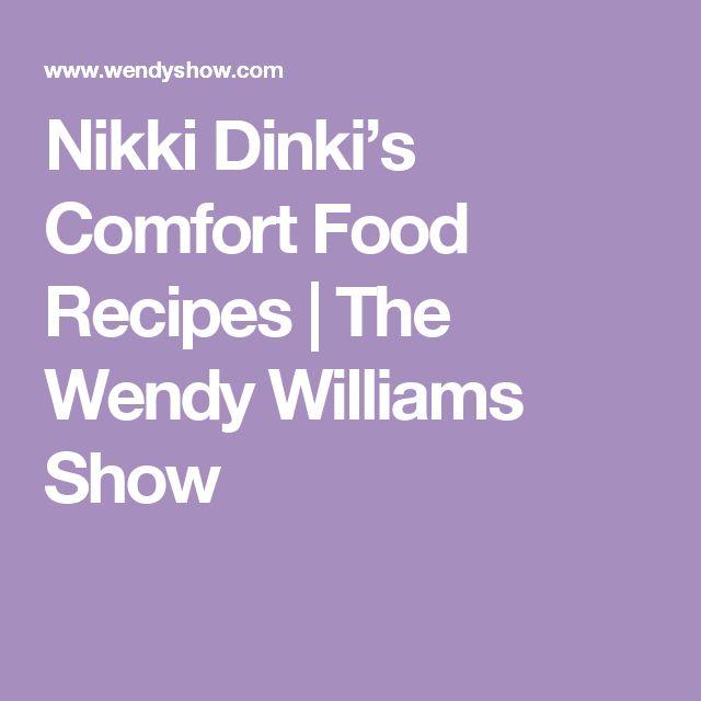 Nikki Dinki's Comfort Food Recipes | The Wendy Williams Show