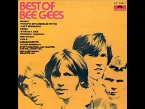 The Bee Gees- 'I Started a Joke' (+lista de reproducción)