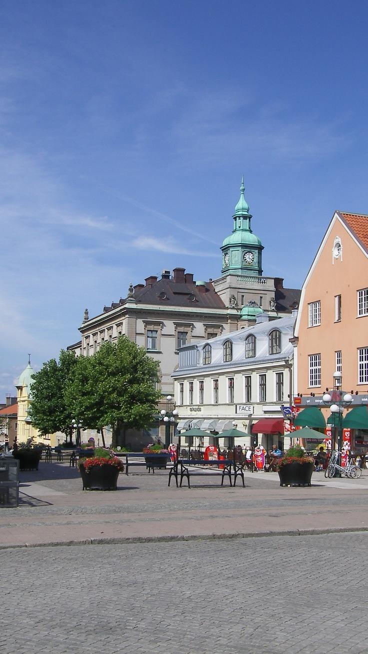 Main square, Karlskrona, Sweden