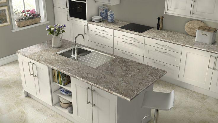 Image Result For White Spring Granite Countertops