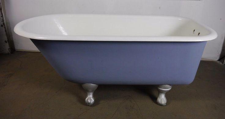 Antique Vintage Clawfoot Bath Tub Richmond 4 1 2 39 1930 39 S Ball C
