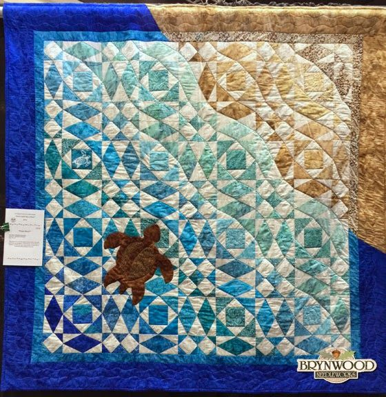 25+ best ideas about Ocean Quilt on Pinterest Landscape quilts, Beach quilt and Quilted wall ...