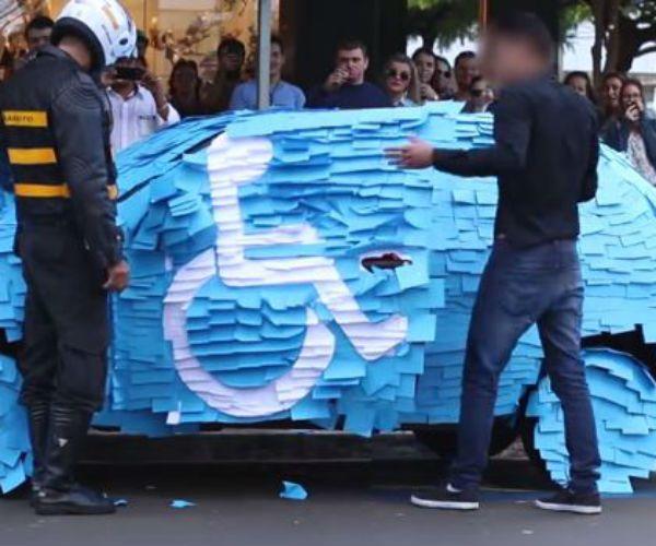 """Képtalálat a következőre: """"handicap parking in brazil"""""""
