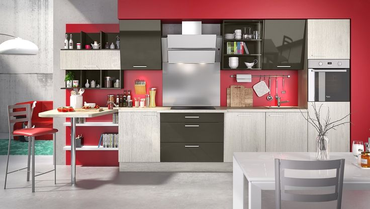 We don't argue the tastes and colors. That is why the choice of colors for the kitchen is probably more complicated the dilemma between an oven or a dishwasher. Reach an agreement with your partner or cohabitant becomes a real challenge when it comes to