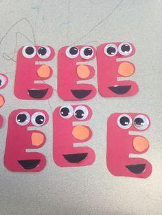 Letter E Crafts - Preschool Crafts