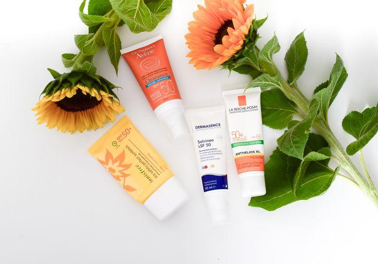 Sonnencreme für Gesicht täglich verwenden gegen Falten, Pigmentflecken. Creme mit Lichtschutzfaktor als Sonnenschutz gegen vorzeitige Hautalterung. UMFRAGE!