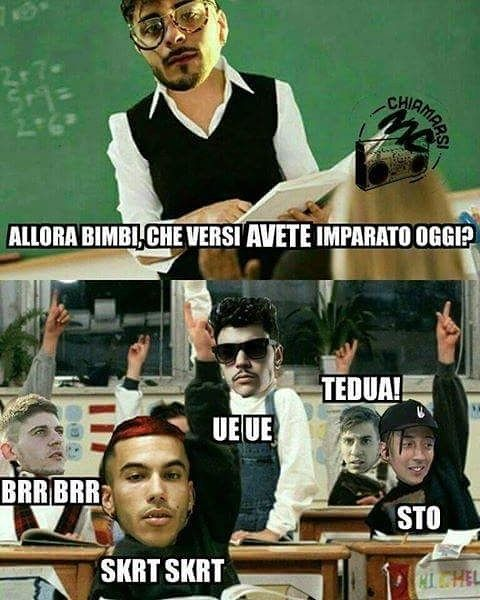 From @chiamarsi_mc_official #rap #rapitaliano #style #hiphopitaliano #rapgame #rapper #facebook #meme #memeita #hiphop #goodmusic #perladelgiorno #funny #funnypic #listentothis #italia #rapperitaliano #showbiz #bimbi #laughs #instafunny #laughing #hilarious #lol #sarcasm #quotes #jokes #smile #cool #quoteoftheday