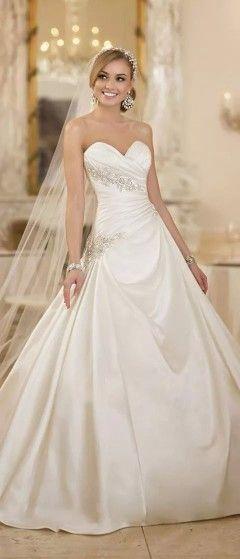 187 mejores imágenes de wedding en Pinterest | Vestidos de novia ...