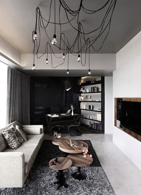 eye catching pieces, texture, cool lighting