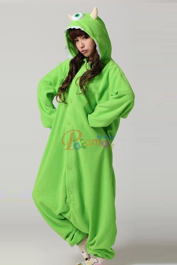 PajamasBuy - Kigurumi Onesies Monsters University Mike Wazowski Costumes Pajamas, $27.35 (http://www.pajamasbuy.com/kigurumi-onesies-monsters-university-mike-wazowski-costumes-pajamas/)
