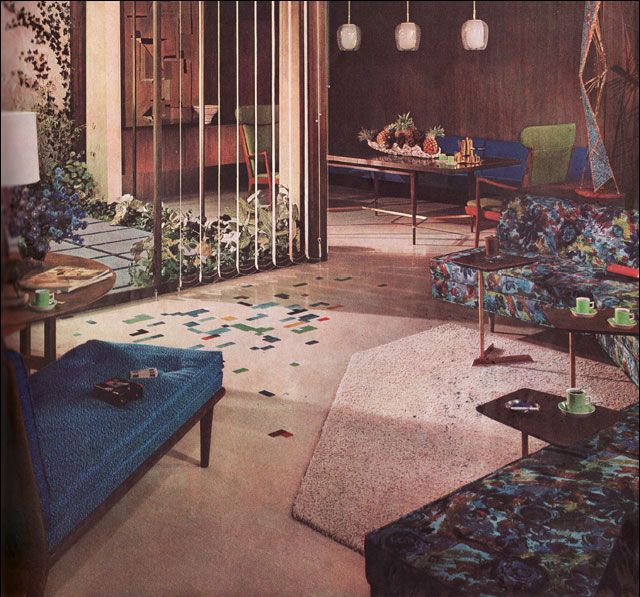 1957 armstrong living room 1950 39 s decor pinterest for Armstrong design a room