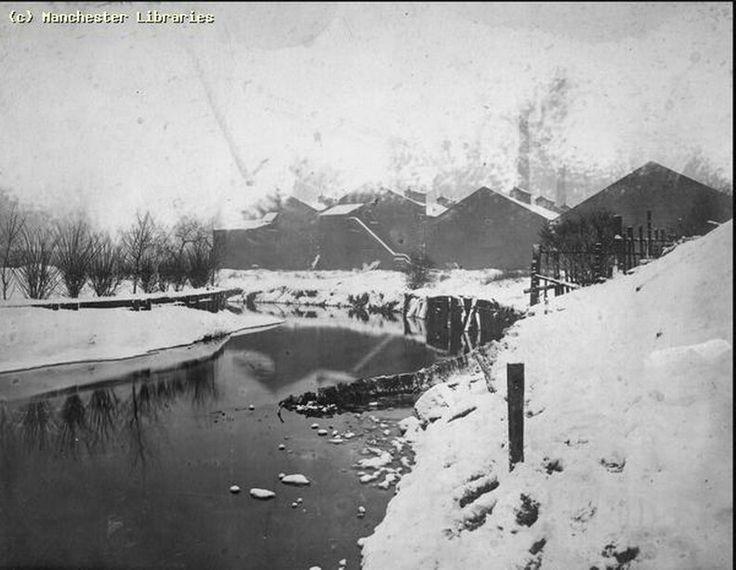 River Irk, Lower Crumpsall, 1910