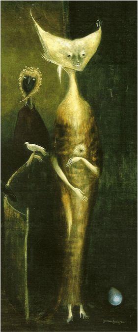 Leonora Carrington, detail from Samain (c. 1951). Oil on canvas. Fig. 11.
