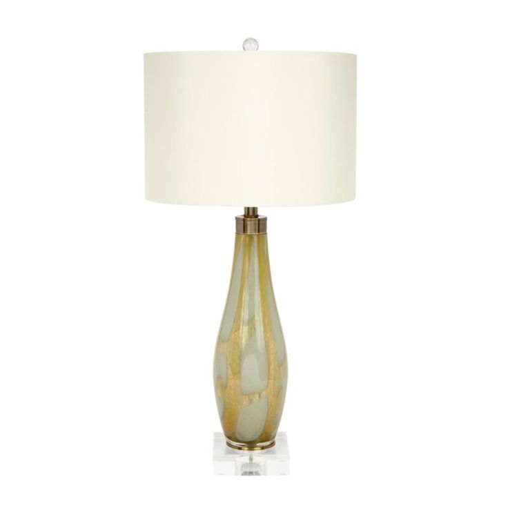 31 Green Gold Standard Table Lamp Lamp Glass Lamp Clear Glass Table Lamp