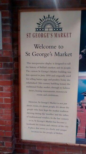 St George's Market/ Belfast / UK 01/2017