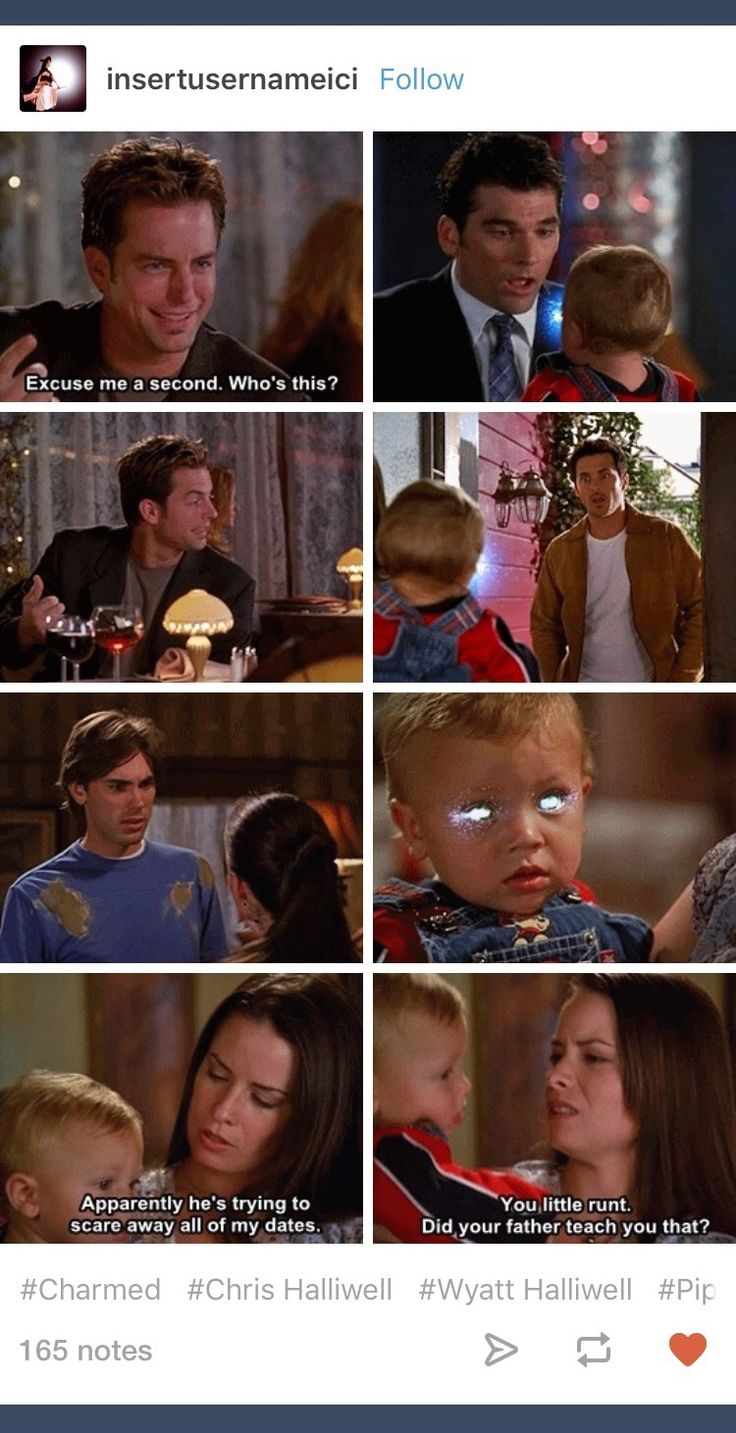 Charmed; Chris Perry; Chris Halliwell; Christopher Halliwell; Wyatt Halliwell; Piper Halliwell