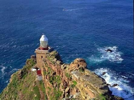 Cape Point is Where Two Oceans Meet: Cape Town South Africa