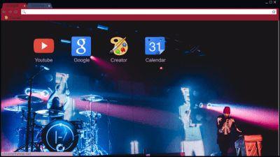 twentyonepilots Chrome Themes - ThemeBeta
