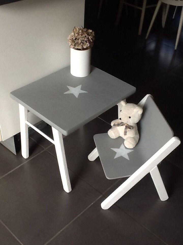 Les 302 meilleures images propos de ambiance vents et for Table et chaise en bois pour bebe